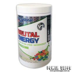 International Protein Brutal Energy Sour Gummy Bear 20 Serves
