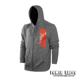 Redcon1 Freedom Hoodie Grey/Red Print XLarge