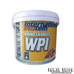 International Protein Amino Charged WPI Caramel Popcorn 3kg
