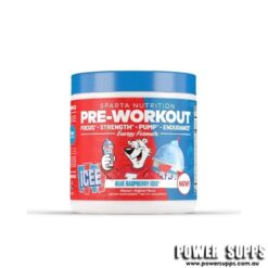 Sparta Nutrition Pre Workout Blue Raspberry ICEE 20 Serves