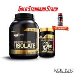 optimum nutrition gold standard isolate pre-workout 60 serve