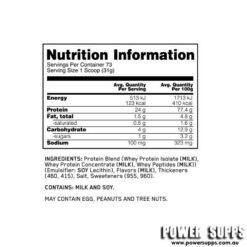 optimum nutrition gold standard whey ingredients