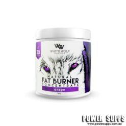 White Wolf Nutrition Natural Fat Burner Grape 30 Serves