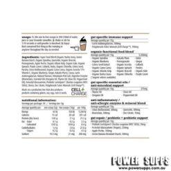 white wolf nutrition greens ingredients