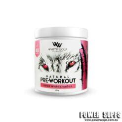 White Wolf Nutrition Pre Workout Sour Watermelon 40 Serves