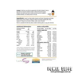 white wolf nutrition vegan plant protein blend ingredients