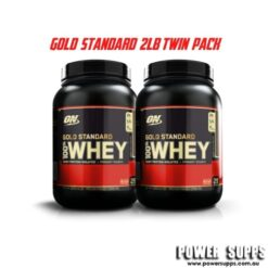 optimum nutrition gold standard 100% Whey 2lb twin pack