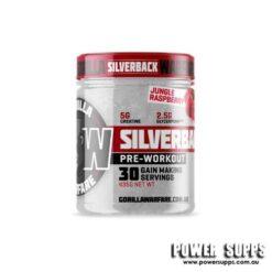 Gorilla Warfare Silverback Juicy Raspberry 30 Serves