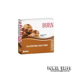 Maxine's Burn Protein Bars Choc Caramel Crunch 12 ? 40g bars