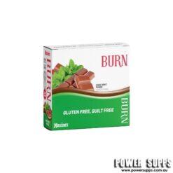 Maxine's Burn Protein Bars Choc Mint Fudge 12 × 40g bars