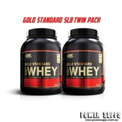 optimum nutrition gold standard twin pack