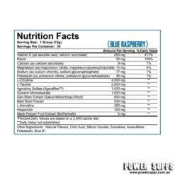 rich piana 5% nutrition full as fuck ingredients