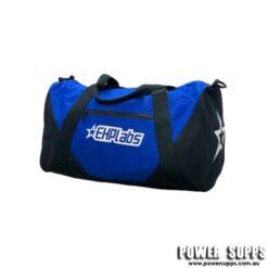 EHPLabs lifestyle gym bag black blue