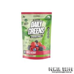 Muscle Nation Natural Daily Greens Mixed Berries 30 Serves