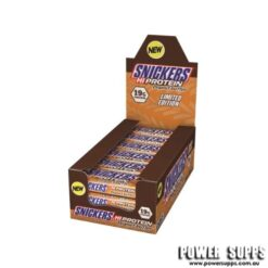 SNICKERS PEANUT BUTTER PROTEIN BARS Caramel Peanut Butter 18 x 57g