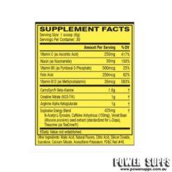 cellucor c4 id series 60 serve ingredients