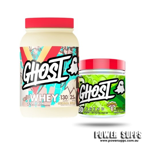 ghost whey legend stack update