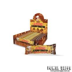 Macro Mike Almond Scrumptionator Protein Bars Almond Scrumptionator 45g Bar