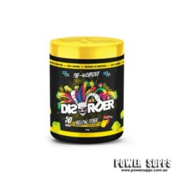 Faction Labs Disorder Yellow Fever 50 serves Pine Lime Flavour 50 Serves