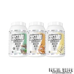 muscle nation custard casein protein triple pack