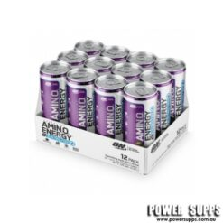 Optimum Nutrition Essential Amino Energy + Electrolytes Sparkling Peach Bellini 12 x 355ml
