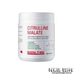 GEN-TEC Citrulline Malate Unflavoured 100g