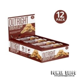 MTS Nutrition Outright Bars Chocolate Chip Peanut Butter 12 x 50g Bars