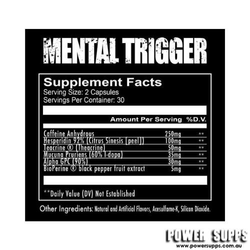 redcon1 mental trigger ingredients