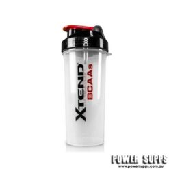 Xtend 800ml Giant Shaker Clear with Black/red 800ml
