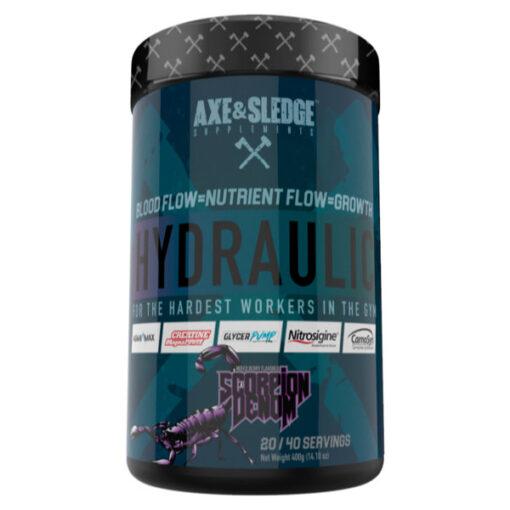 Axe & Sledge Hydraulic Scorpion Venom - Mixed Berry 40 Serves