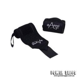 Rappd Wrist Wraps Black 13 inch