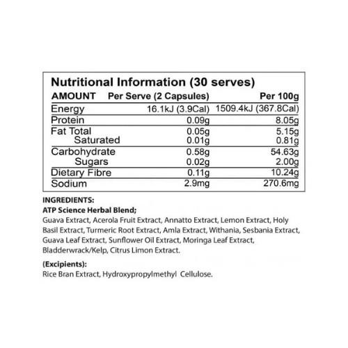 atp science vital foods ingredients