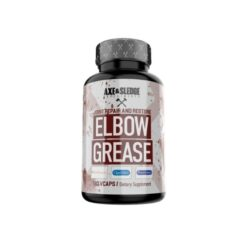 Axe & Sledge Supplements Elbow Grease Unflavoured 120 Vcaps