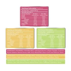 atp science noway collagen jelly mixed flavours ingredients