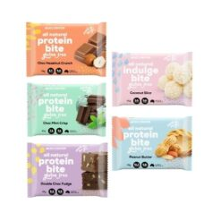 Muscle Nation Bites Variety 5 Pack 5 Flavours 5 X Bites