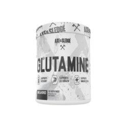 Axe & Sledge Glutamine Unflavoured 40 Serves