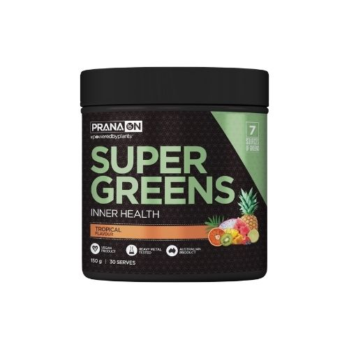 Prana ON Super Greens Tropical 300g