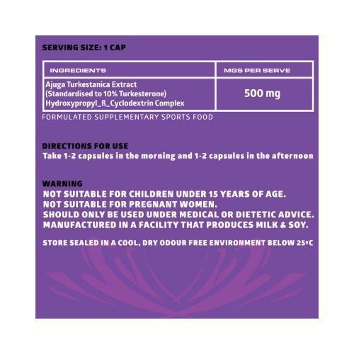fantom sports turkesterone 500mg ingredients
